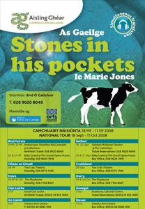 Stones in His Pockets - dráma Marie Jones á léiriú i nGaeilge ag Aisling Ghéar